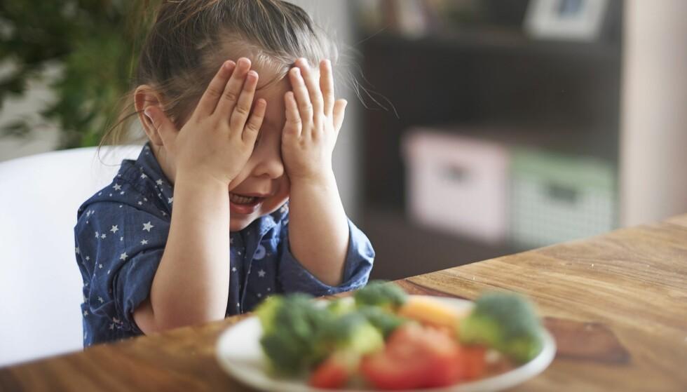 EKSTREMT KRESEN: Mens det å være kresen er helt normalt, kan det i noen tilfeller være en spiseforstyrrelse. Foto: NTB Scanpix