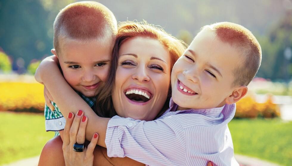 GUTTEMAMMA: Mors helse påvirkes blant annet av at guttebarn krever mer energi fra moren under graviditeten. Foto: NTB Scanpix