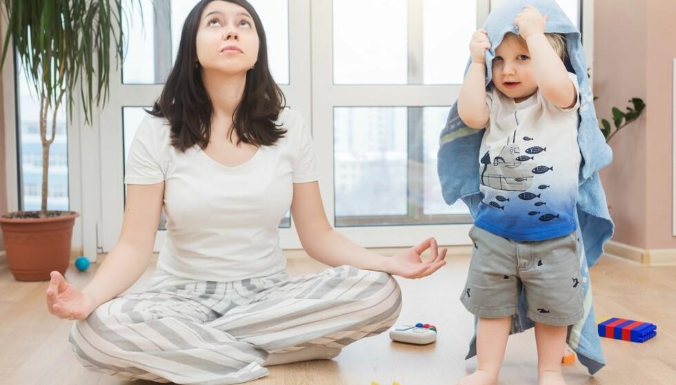 EGENTID FOR SMÅBARNSFORELDRE: Mangel på egentid kan gi grobunn for frustrasjon og konflikter. Foto: ZephyrMedia / Shutterstock / NTB scanpix