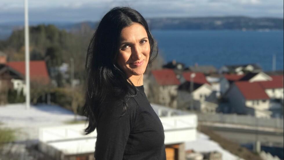 MINA GHABEL LUNDE: Journalist og blogger, Mina Ghabel Lunde, skriver om kroppsfokuset i dagens samfunn.  Foto: Jonas Lunde