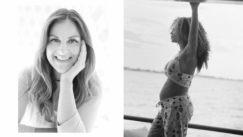 BEYONCE GRAVID: KK.nos journalist Malini Gaare Bjørnstad digger at Beyoncé deler så mye fra privatlivet sitt på sosiale medier. Foto: Skjermdump Beyonce.com // KK.no