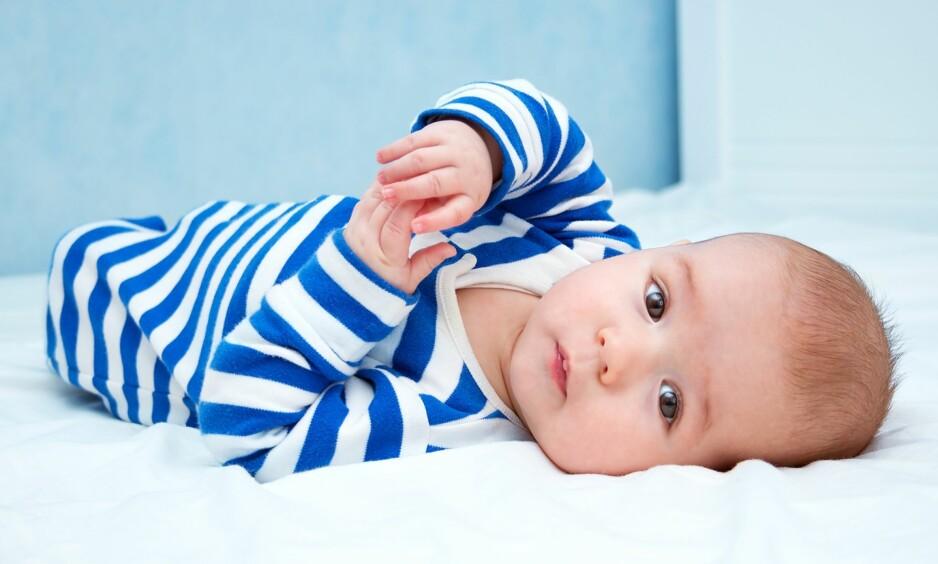 FIRE MÅNEDERS SØVNREGRESJON: Mange foreldre opplever babyens søvnrytme endres i fire måneders alderen. Foto: NTB scanpix