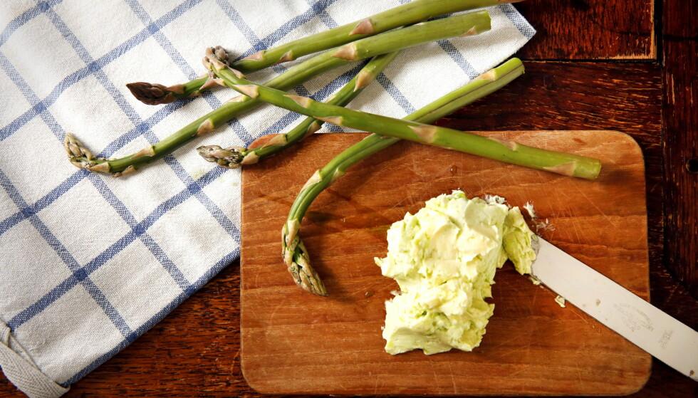 <strong>GRØNN ASPARGES:</strong> Den grønne har litt kortere koketid, men begge er sunne.