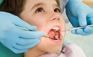 Hva gjør man når barnet har tannlegeskrekk?