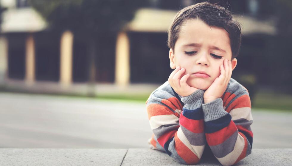ALLE BARN KJEDER SEG EN GANG IBLANT: Og vi voksne burde kjede oss litt oftere vi også, i følge ekspertene. Foto: NTB Scanpix