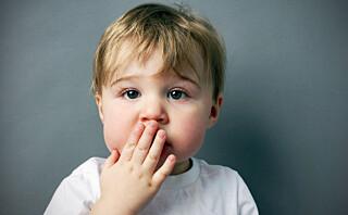 Stotring hos små barn er helt normalt