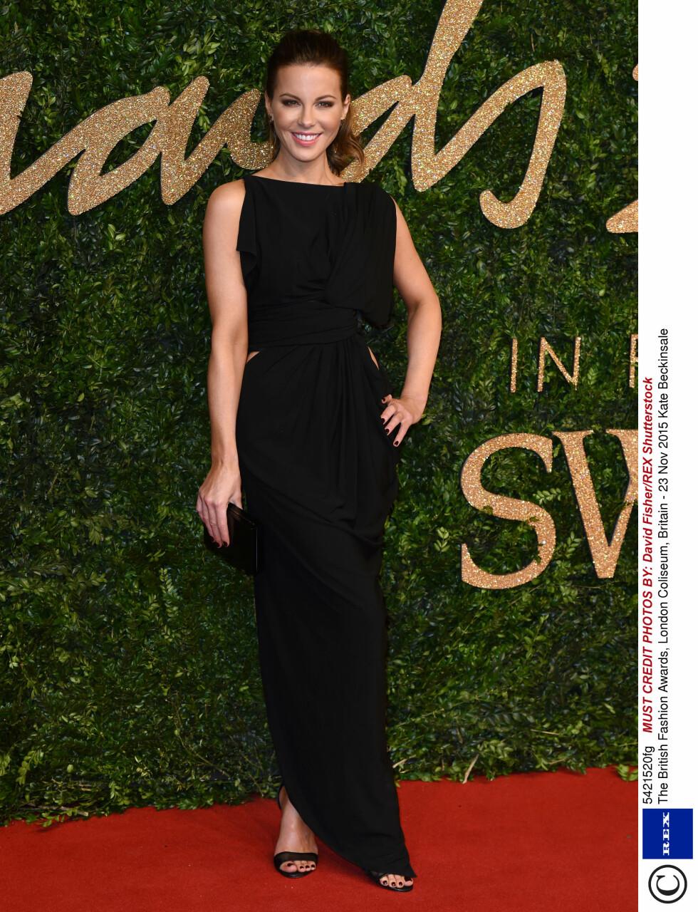 <strong>KLASSISK:</strong> Skuespiller Kate Beckinsale. Foto: Rex Features