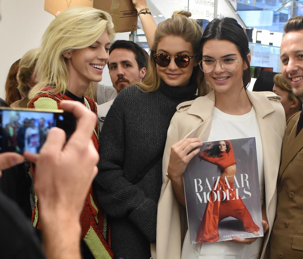 KENDALL JENNER: For å legge ut ett sponset innlegg på Instagram kan Kendall Jenner (20) tjene opp mot 3 millioner kroner. Foto: Splash News