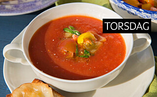 Tomatsuppe med toast