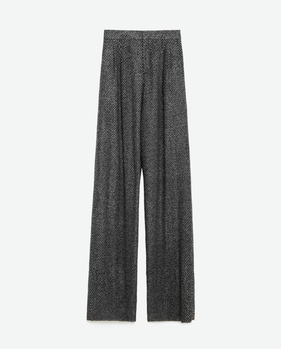 Bukse fra Zara, kr 699. Foto: Produsenten