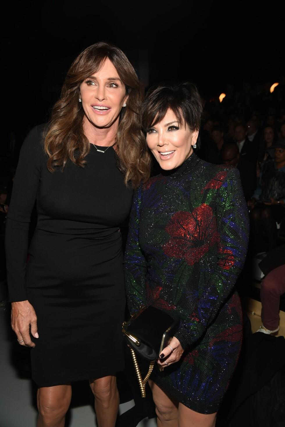 FORBLE VENNER: Kris Jenner og Caitlyn Jenner har klart å beholde vennskapet etter sistnevntes kjønnsskifte. Foto: Rex Features