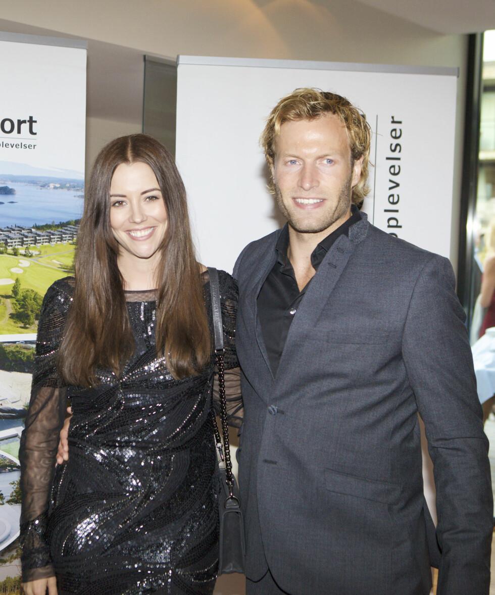 SKILSMISSE: Etter å ha vært gift i to år, brast lykken for Marion Ravn og Andreas Ygre Wiig. Foto: NTB scanpix