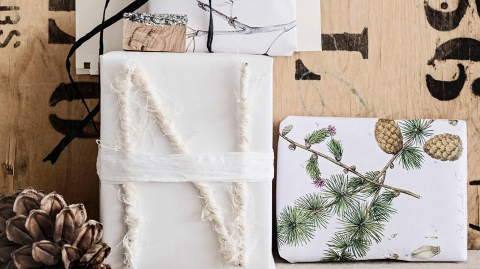 JULEGAVER: Se så flotte! Disse gavene vil vi gjerne gi bort, og få selv, til jul. Få alle tipsene i saken! Foto: Line Kay