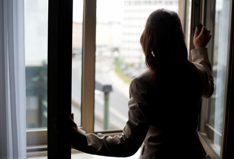 <strong>FRYKT:</strong> Grunnen til at mange blir værende i usunne relasjoner handler ofte om frykt for å være alene. Foto: Jan Haas / NTB scanpix