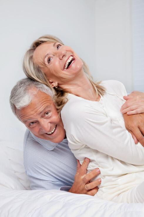 <strong>BEDRE LIV:</strong> Lokalbehandling med østrogen kan gi en ny vår i seksuallivet. Foto: Shutterstock