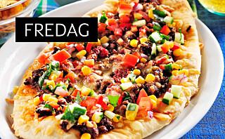 Tacopizza som smaker himmelsk