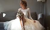 Historien bak den fantastiske brudekjolen til TV 2-Susanne