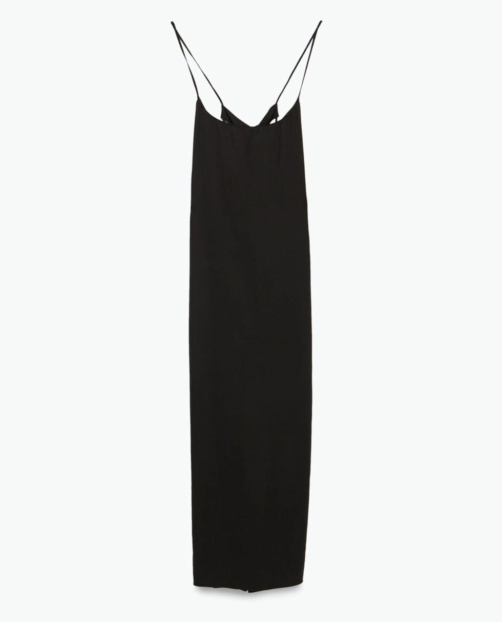 Kjole fra Zara, kr 799. Foto: Produsenten