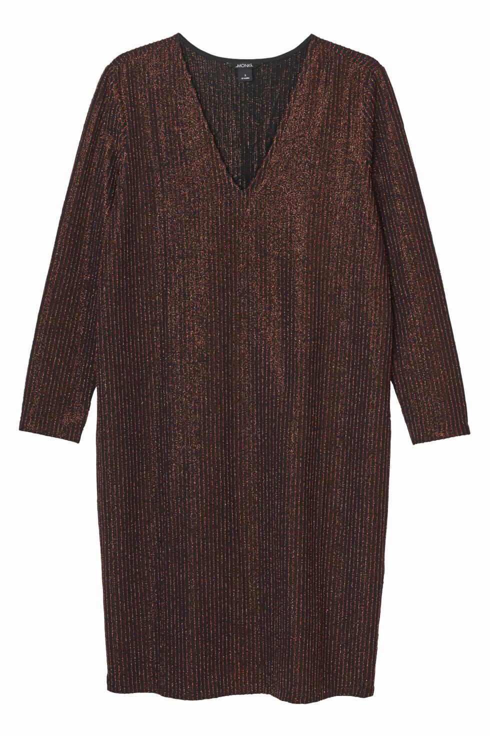Kjole fra Monki, kr 300. Foto: Produsenten