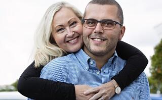 Marianne og Anders har gått ned 55 kilo