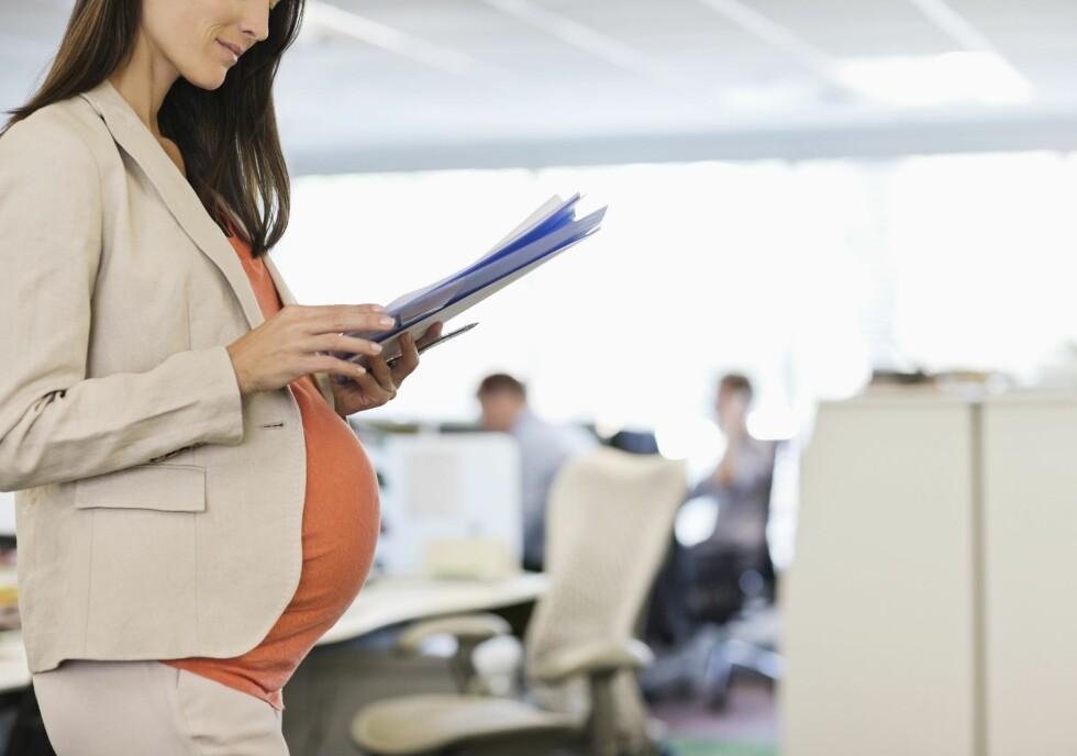 KARRIERE FØRST? Stadig flere venter med å prøve og få barn til de er godt opp i 30-årene. For noen kan det da være for sent. Foto: All Over Press