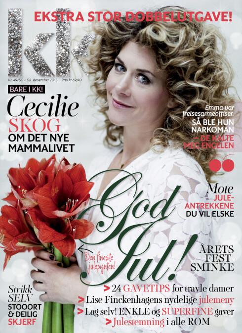 KK 49: Cecilie er covermodell i ukens KK.