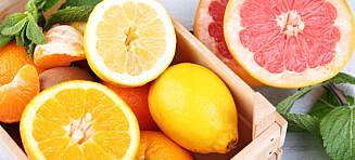 Sitrusfrukter: Enda en god grunn til å få det i seg