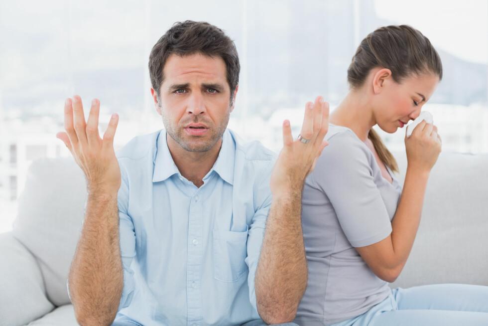 MOT SIN HENSIKT: Noen typer gråt hjelper ikke like mye på humøret, og kan i tillegg utløse irritasjon hos andre. Foto: Shutterstock / wavebreakmedia