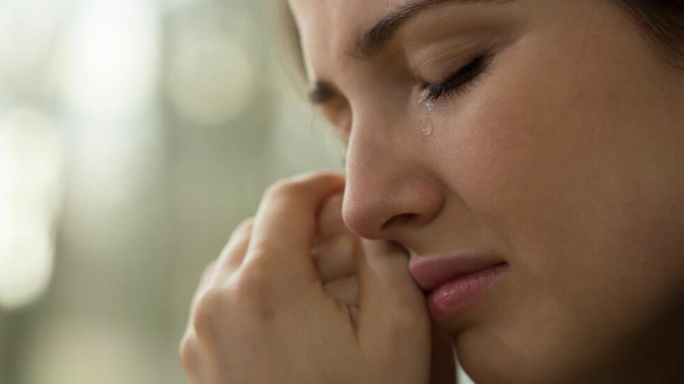 SNUFS: Å slippe ut følelsene gjennom gråt kan være godt for oss, men det er ikke all gråt som er like bra. Foto: Shutterstock / Photographee.eu