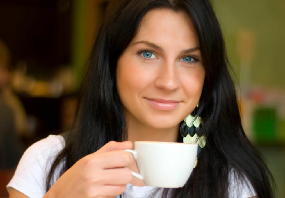 <strong>GARVESYRE HAR SKYLDEN:</strong> Det er inneholdet av garvesyre i kaffen som gir den uheldige effekten. Det finner du også i grønn te.  Foto: Fotolia