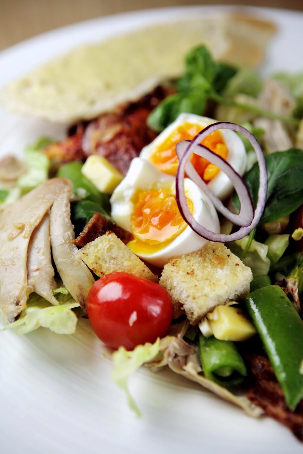 TRYGT: Egg ble lenge sett på som en kolesterolversting, men er i dag frikjent.  Foto: Annemor Larsen/VG/Scanpix
