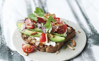 Spis bort høyt kolesterol
