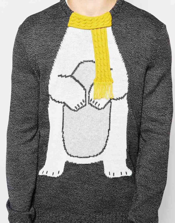 Denne genseren er fra herreavdelingen til Asos.com, men kan fint brukes av oss damer også! Koster kroner 394. Foto: Produsenten
