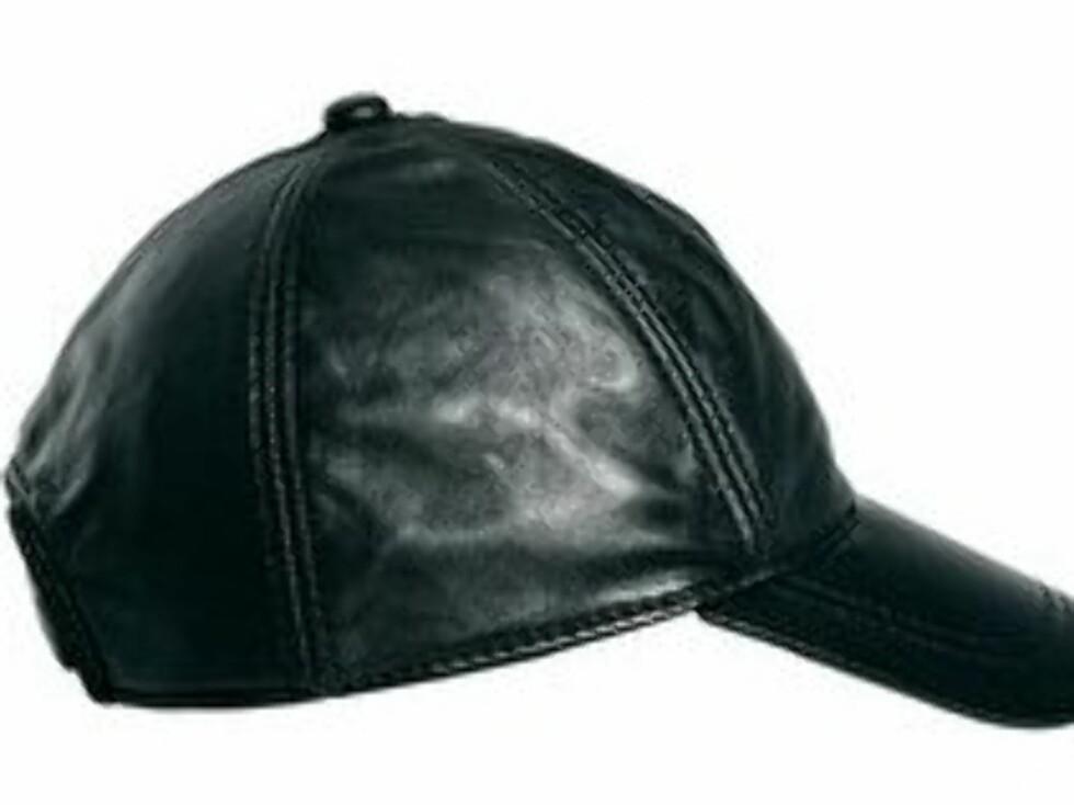 Caps i imitert skinn - 247 kroner, Asos.com. Foto: Produsenten