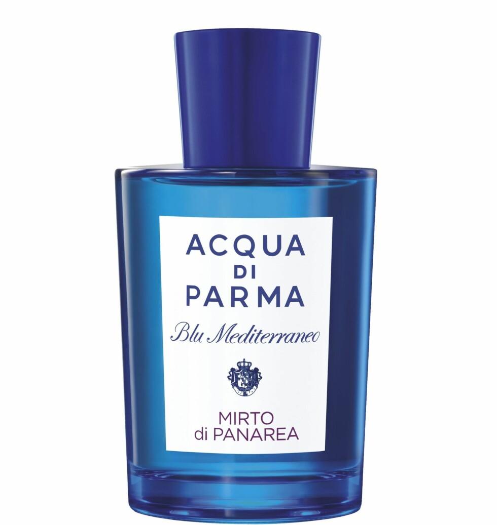 Parfyme (kr 665, Acqua di Parma, Mirto de Panarea). Foto: Produsenten
