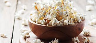 Er popcorn en antioksidantbombe?