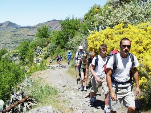 NATUROPPLEVELSER: Gran Canarias innland er full av flotte fjellområder med nydelige vandringsruter. Foto: Star Tour