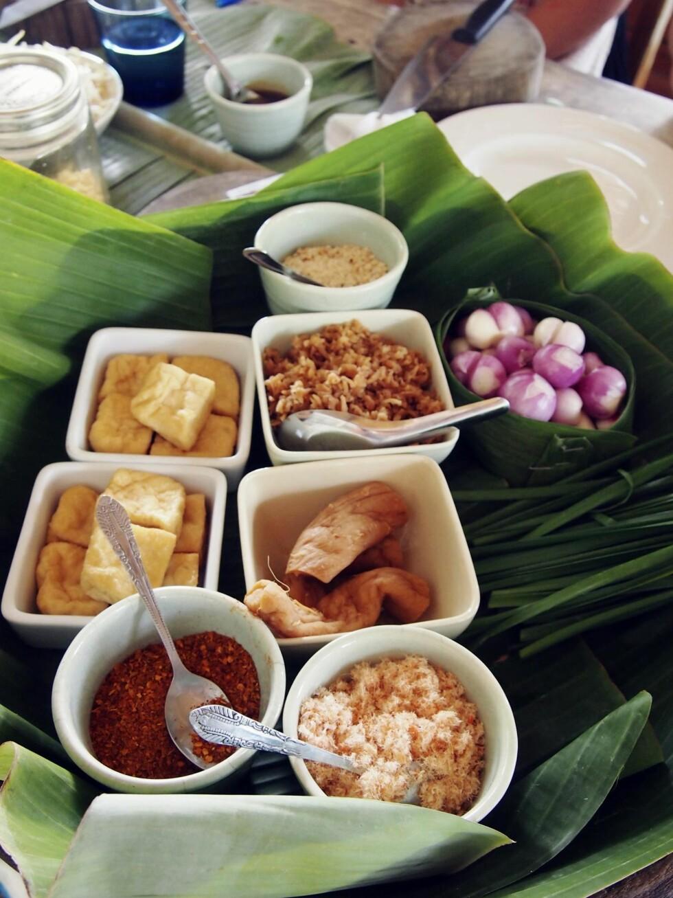 SUNT OG GODT: Thailandsk mat er blant den sunneste i verden, og mange vil hevde blant den beste også. Lær selv på et av de utallige kokkekursene som arrangeres. Foto: Arne-Petter Lorentzen