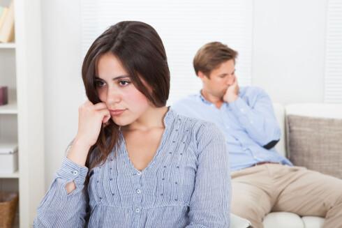 MÅ TENKES NØYE OVER: Vurderer du å gå fra partneren er det viktig å finne ut av hvorfor. Har dere problemer akkurat nå, eller har det egentlig aldri vært riktig valg?  Foto: apops - Fotolia