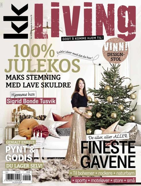 I SALG NÅ: KK Living nummer 8 2015.