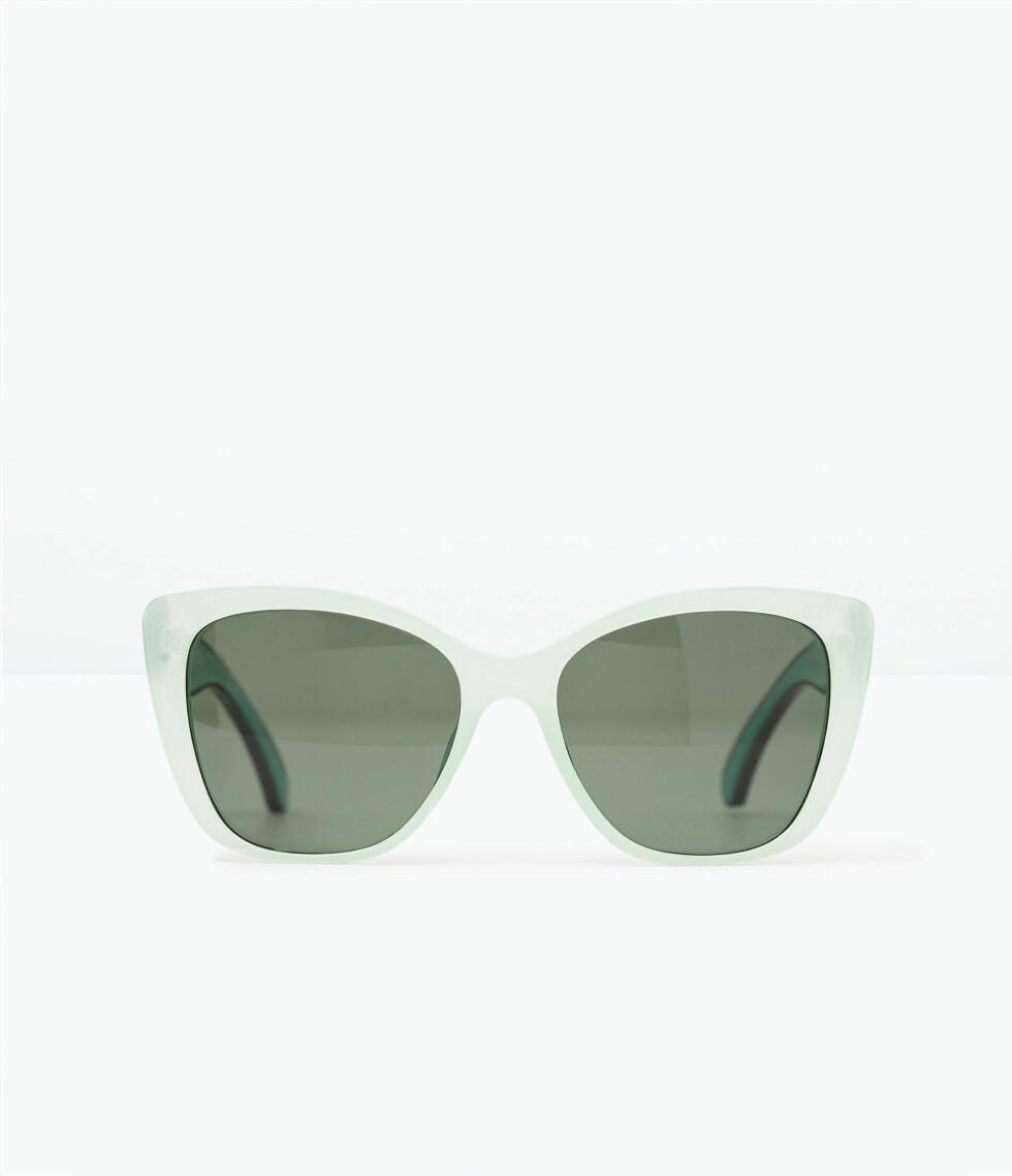 Solbriller fra Zara, kr 199. Foto: Produsenten