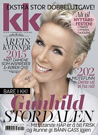 STOR NYTTÅRSUTGAVE: Intervjuet med Gunhild Stordalen kan leses i sin helhet i KK51/52,  som er i salg fra fredag 18. desember.  Foto: Morten Qvale