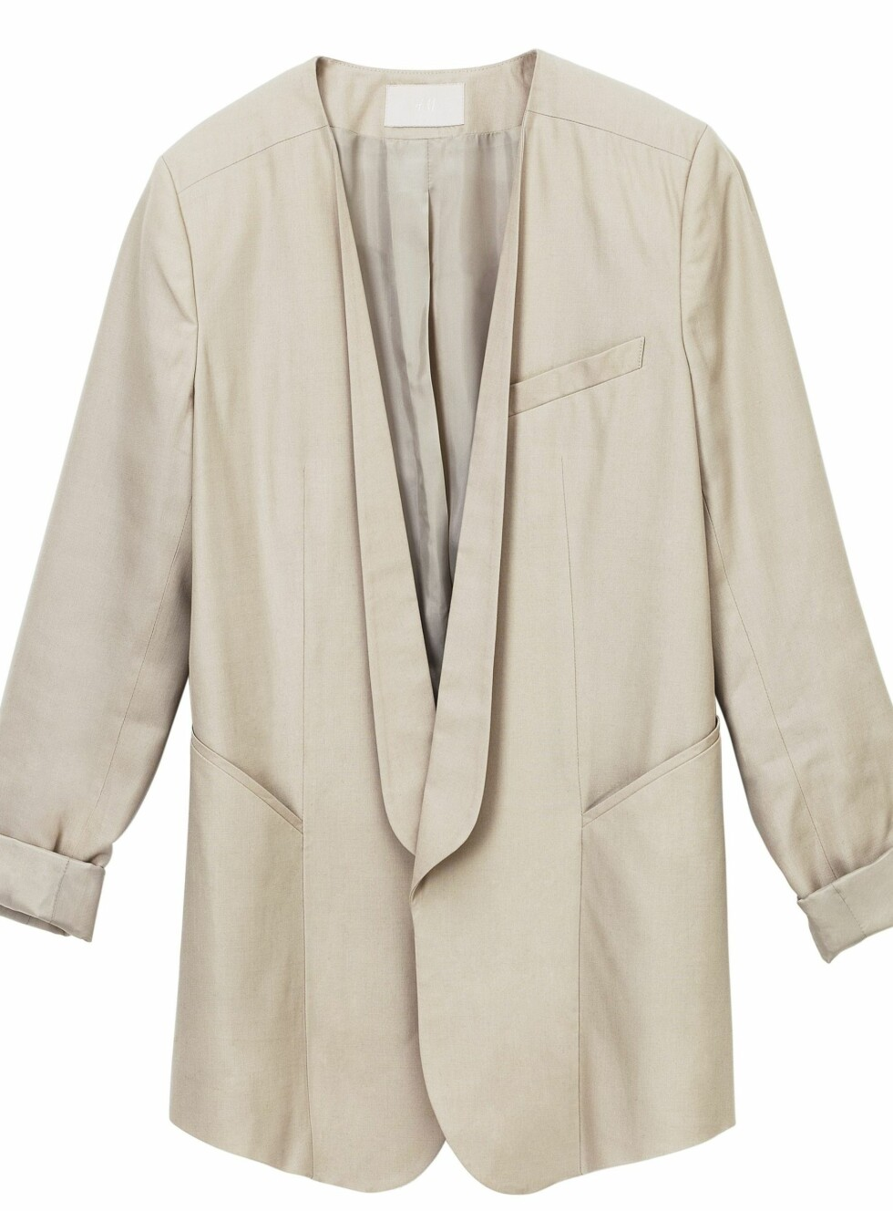 Herreinspirert 80-talls blazer (kr 500, H&M).