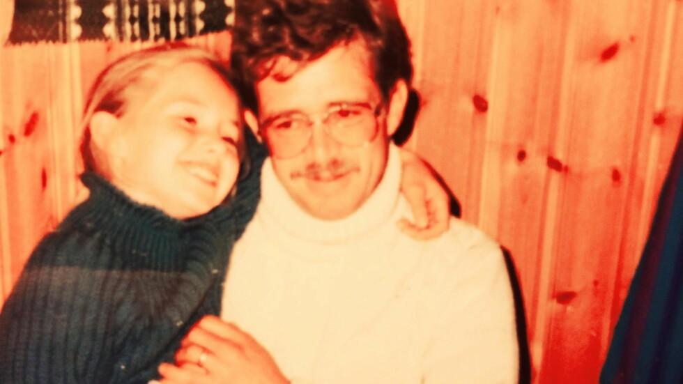 PAPPA DRAKK: Elisabeths pappa var verdens beste, men han klarte ikke la være å drikke. «Fortell om oss, og hva rusmisbruk gjør med en familie», oppfordret han datteren da hun var 16 år. Foto: Privat