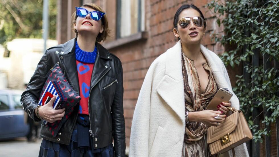 VÅRENS SOLBRILLE-TREND: Finn frem fjorårets solbriller - trenden fortsetter!  Foto: All Over