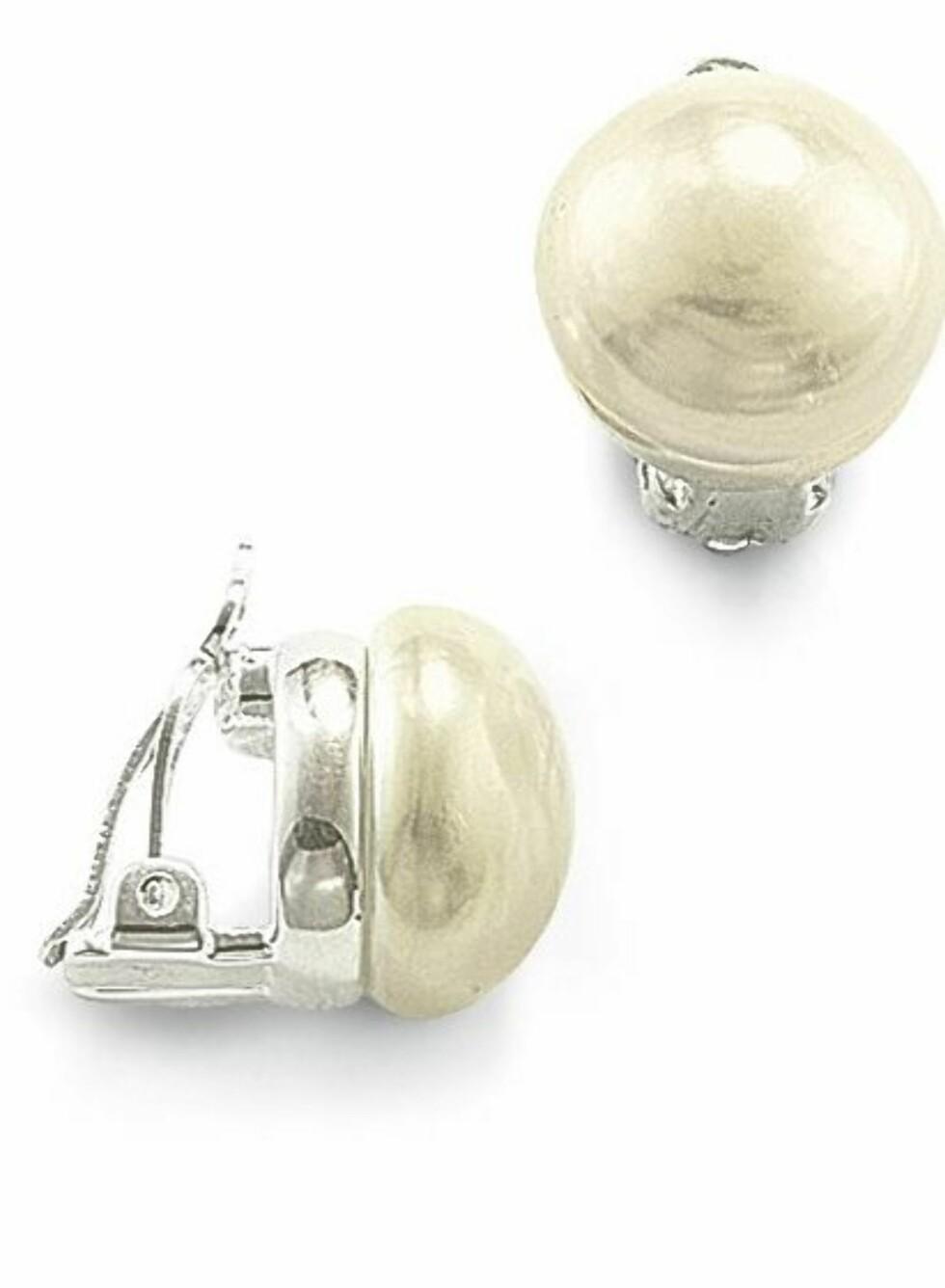 Klipsøredobber med perle fra Thomas Sabo, kr 798. Foto: Produsenten