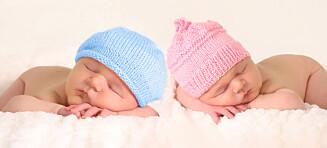 Alderen øker sjansen for å få tvillinger