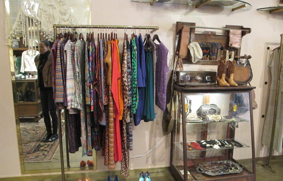 GUIDE TIL DE EKTE PERLENE: Under finner du Åsa Formarks beste tips til vintageshopping i New York. Hun driver selv Velouria Vintage i Oslo og reiser ofte til New York for å gjøre vintagekupp. Foto: Åsa Formark