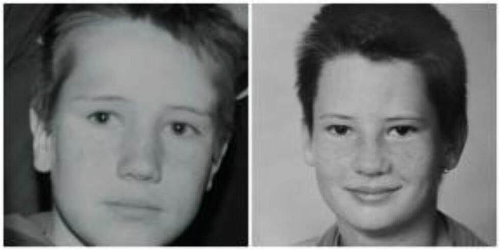 STORT SAVN: Disse bildene er de siste Astrid har av guttene sine, Robert (t.v.) og Christopher (t.h.).  Foto: Privat