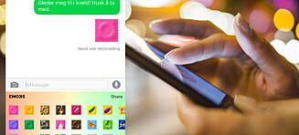 Kondom-emoji tilgjengelig på iOs og Android